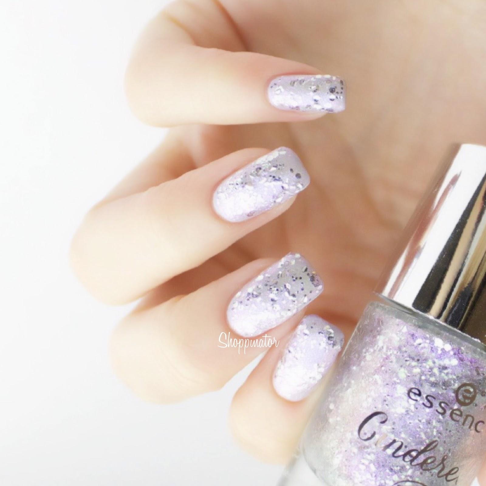 Essence-Cinderella-Disney-Shoppinator-Nagellack-Glitzerlack-Topper-The-Glass-Slipper-Watch-Out-Lady-Tremaine-Bibbidi-Bobbidi-Boo-Prince-Charming-Sing-Sweet-Nightingale