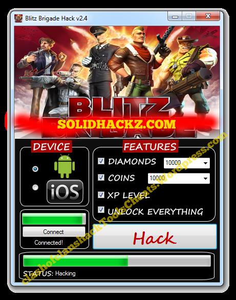 Blitz Brigade Hack Tool