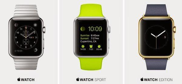 gambar model-model apple watch