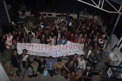 nepal climate convergence 2015