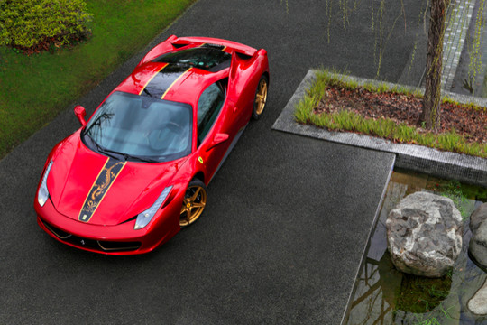 Ferrari 458 Italia 20th Anniversary Special Edition