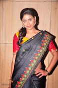 Actress Maneesha Photos in Saree-thumbnail-8