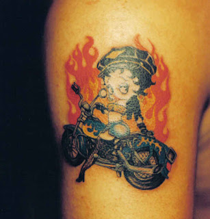 Betty Boop Tattoo Design Photo Gallery - Betty Boop Tattoo Ideas