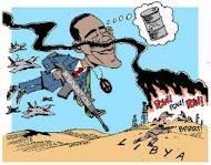 Obama: preocupado com o povo líbio...
