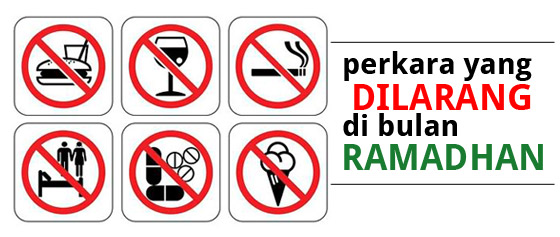 larangan di bulan ramadhan Puasa tapi TAK SOLAT