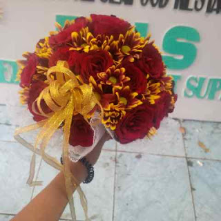 wedding hand bouquet surabaya, jual hand bouquet surabaya