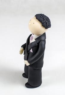 Poročna figurica - ženin
