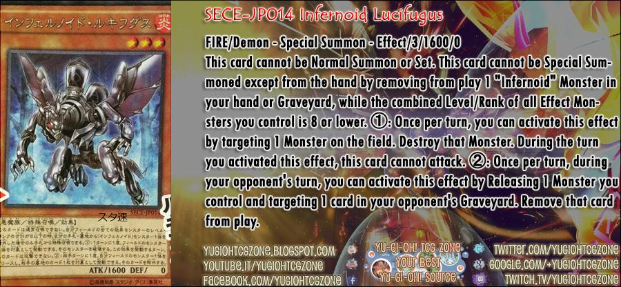 SECE-JP014 Infernoid Lucifugus 「インフェルノイド・ルキフグス」