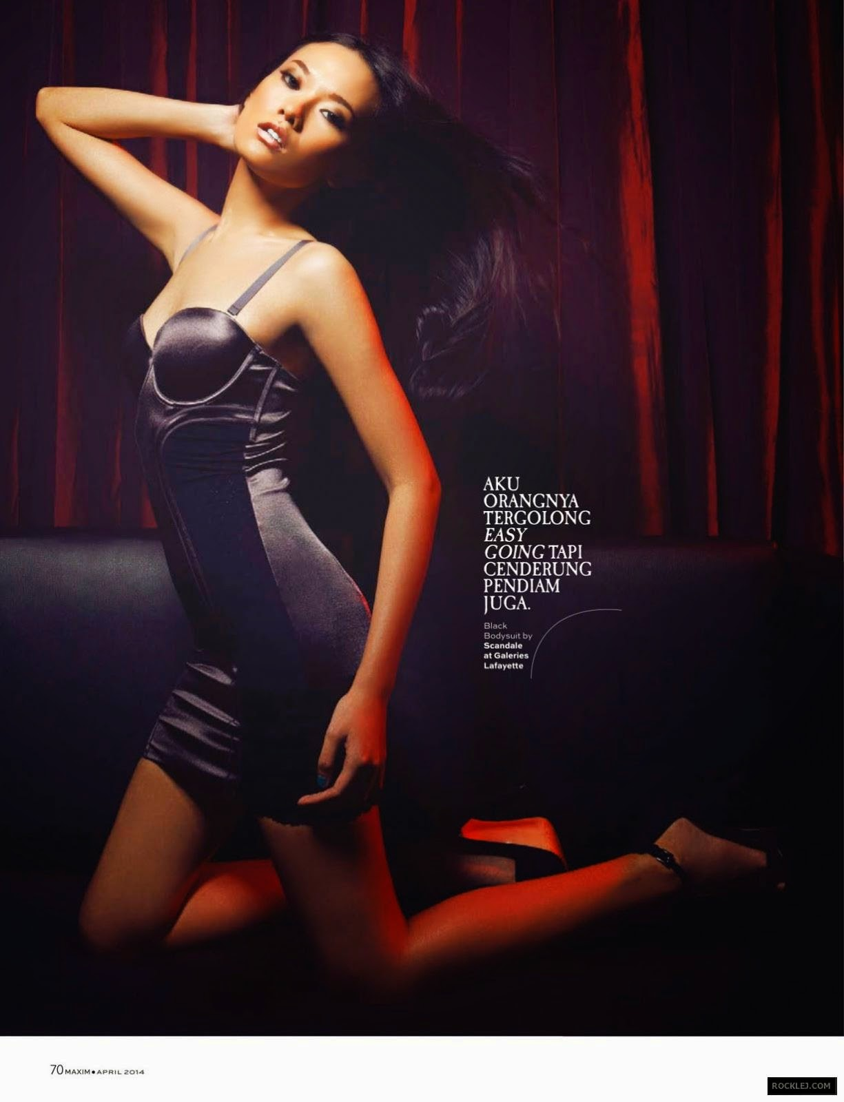 Dara Warganegra - Hot Photoshoot For Maxim Indonesia 2014