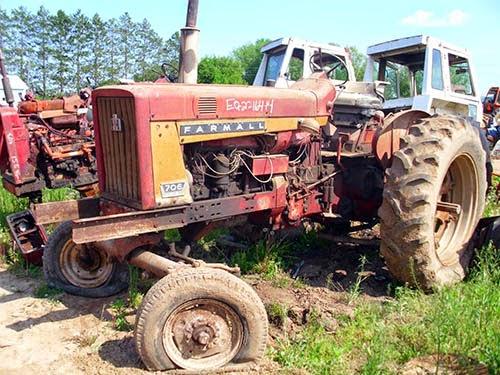 IH 706 tractor parts