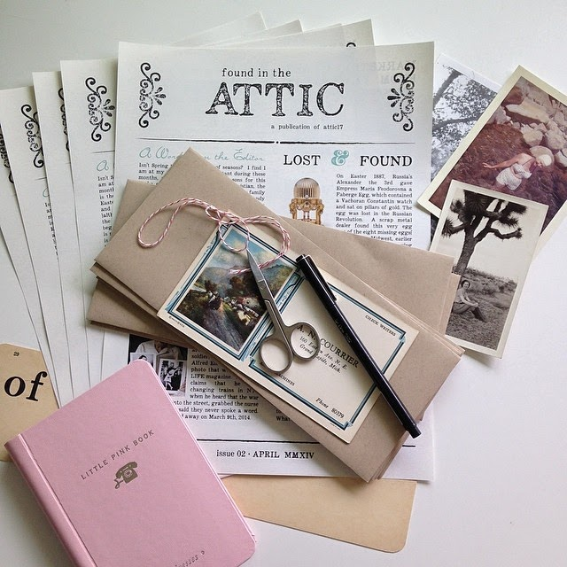 """Found in the Attic"" is Attic 17's Newsletter!"