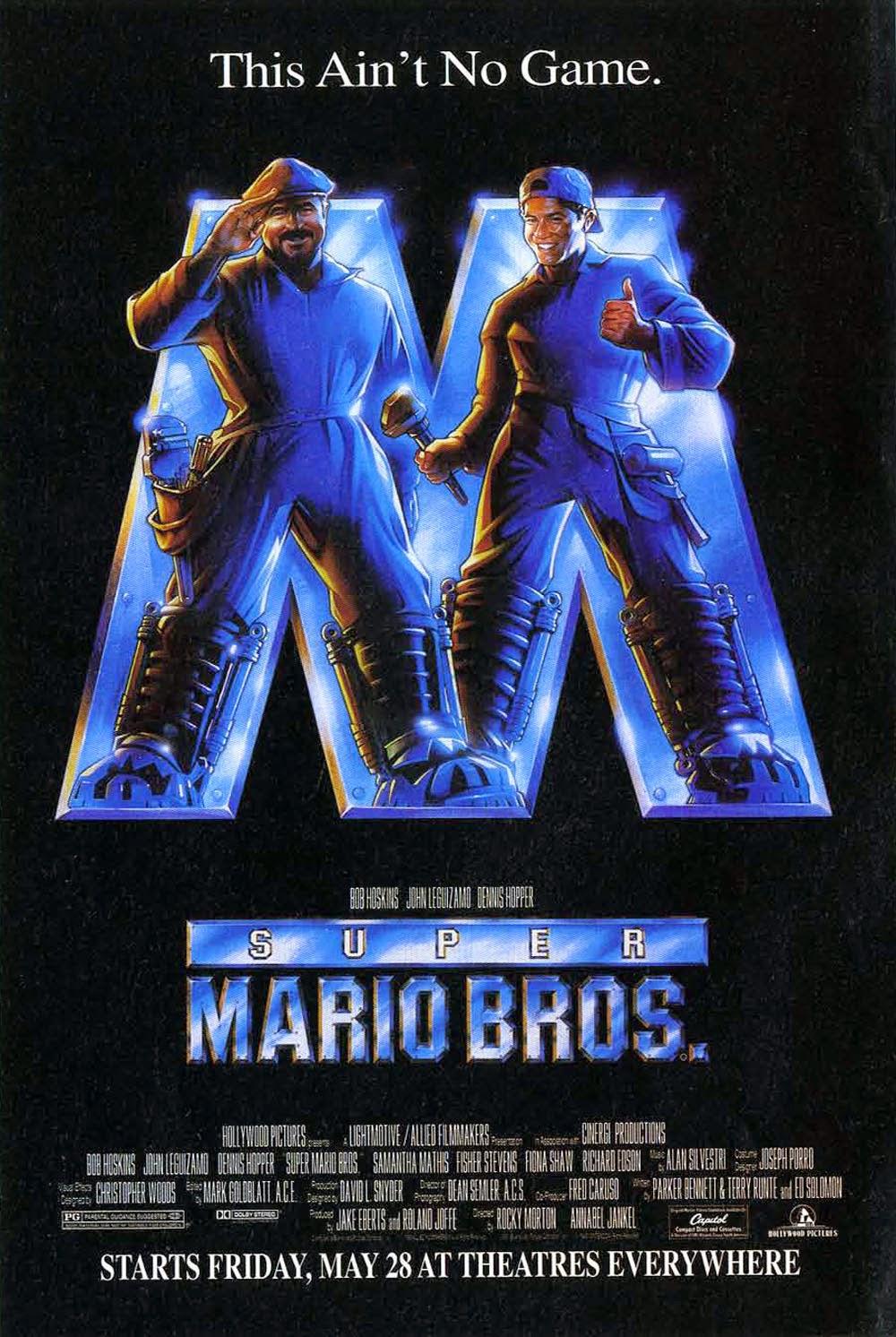 Super Mario Bros film locandina recensione