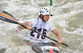 PIRAGÜISMO - Maialen Chourraut se colgó la medalla de oro en la final de K-1 de la Copa del mundo de eslalon