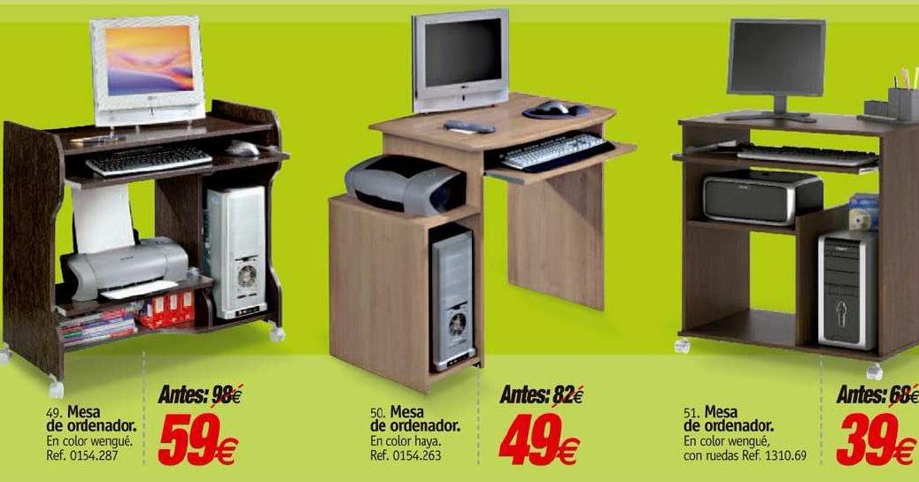 Rapimueble la carolina mesas de ordenador al mejor precio - Como hacer una mesa de ordenador ...