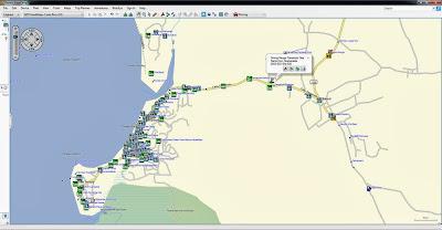 Tamarindo, GPS, Garmin, Map, Mapa