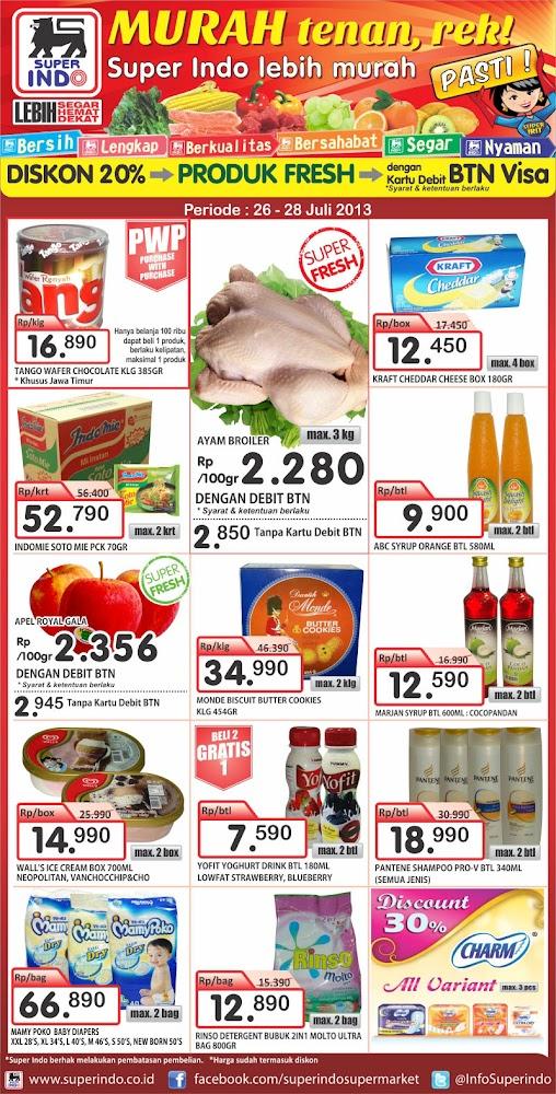 JAWA POS 26 28 juli 800 Katalog Superindo Weekend Promo (Promo Koran) Terbaru Periode 26 28 Juli 2013