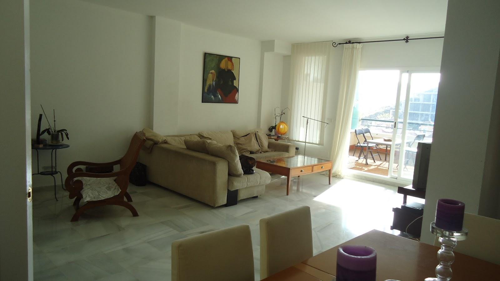 Apartamento torrequebrada a 100 m playa el apartamento for Terraza del apartamento