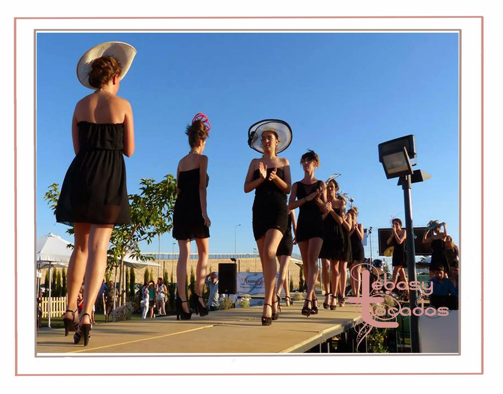 Lebasy Tocados en el desfile benéfico Manzanares Fashion Week