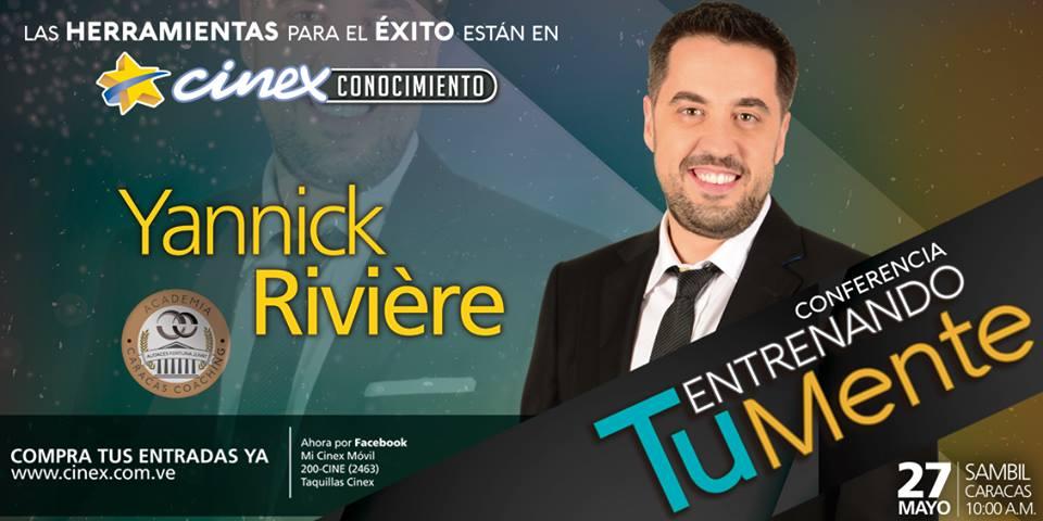 Yannick Riviere en CINEX