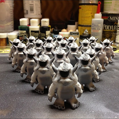 Convention Exclusive CE-OTMB Custom Stroll Mini Figures by Spanky Stokes