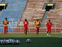 Menjelang Pertandingan Indonesis vs Turkmenistan di Gelora Bung Karno