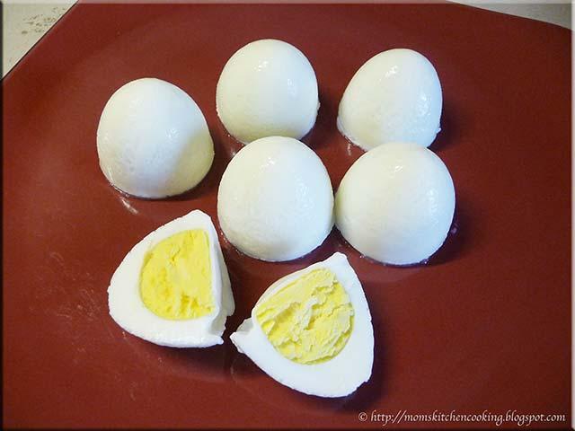 Рецепт для формы яиц