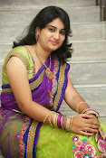 Krishnaveni glam in half saree-thumbnail-5