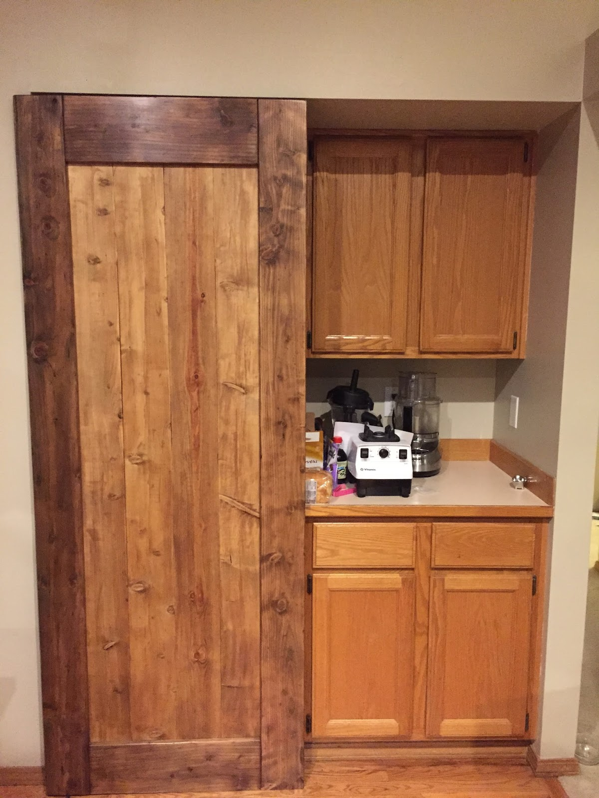 Barn Door For Kitchen Andrews Tech Page Custom Kitchen Pantry Barn Doors