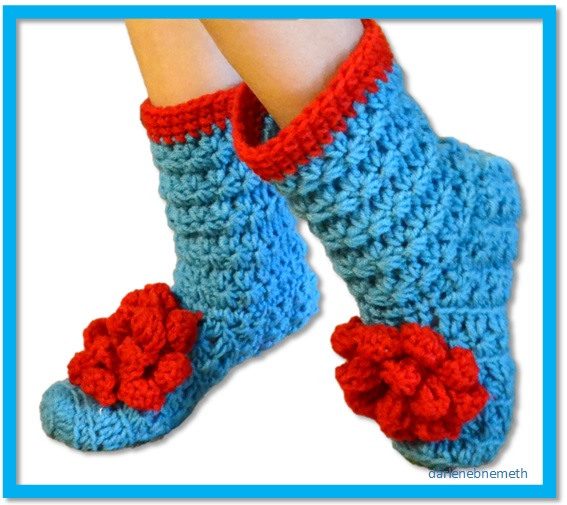Let It Shine: Quick and Easy Crocheted Slippers