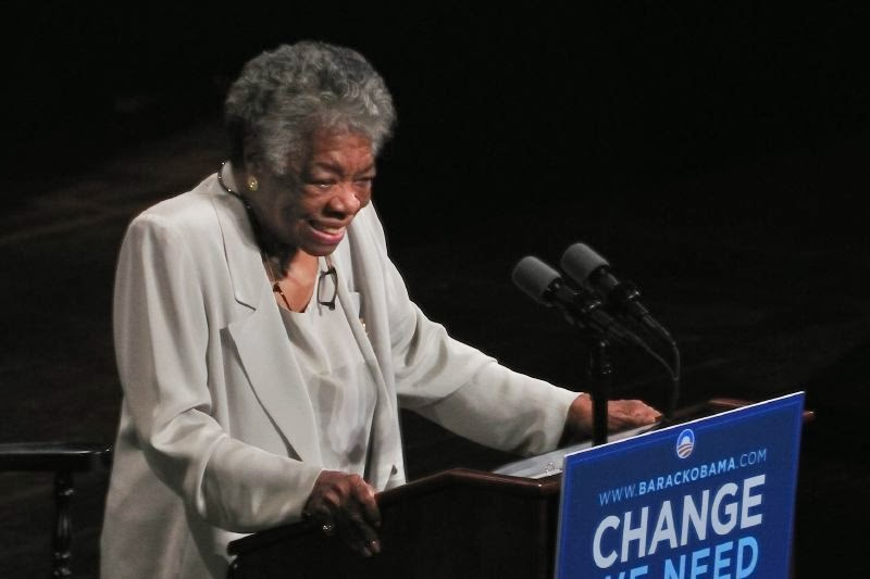 http://en.wikipedia.org/wiki/File:Maya_Angelou_speech_for_Barack_Obama_campaign_2008.jpg