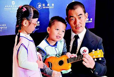 任賢齊(小齊)昨日出席慈善晚宴,呼籲大眾多關注有特殊需要的兒童和家庭。