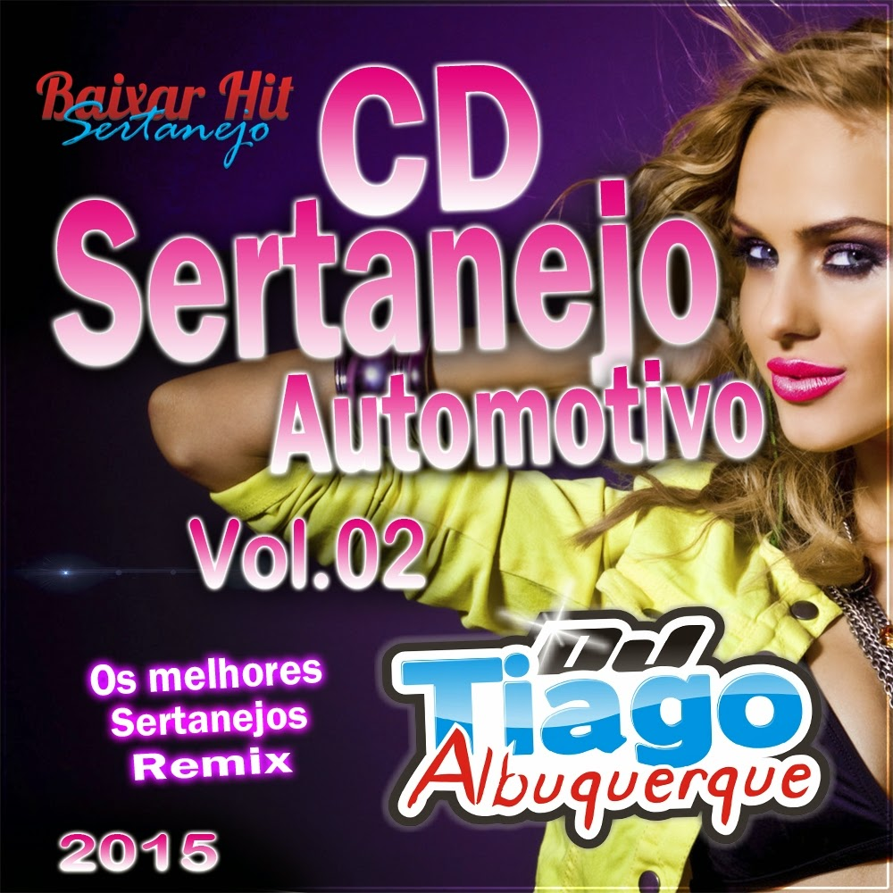 CD Sertanejo Automotivo Vol.02