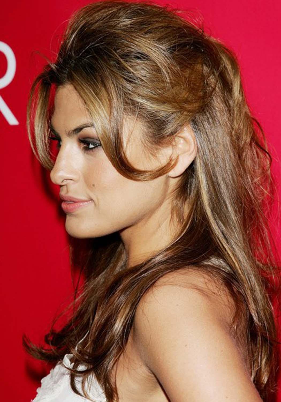 Eva Mendes Eva Mendes Haircut