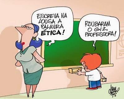 Ética  começa na  sala de aula