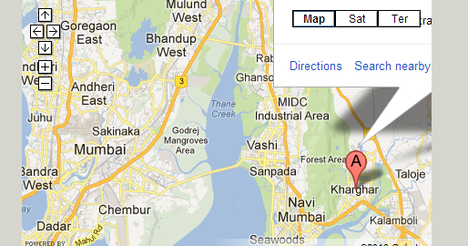 how to add company location in google map