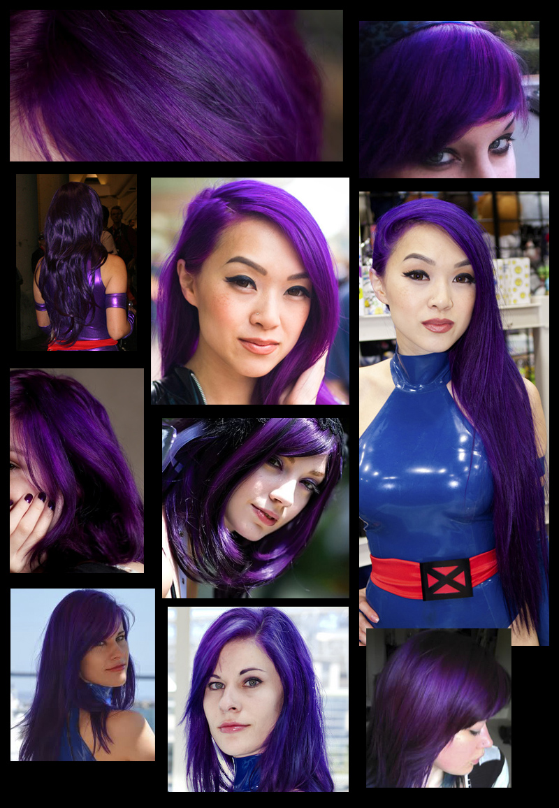 Nets Little Corner Purple Hair Ion Color Brilliance