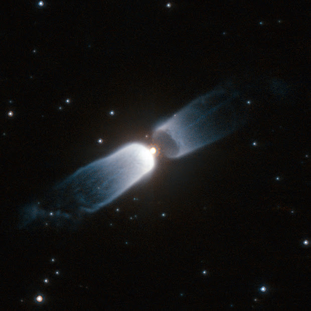 Hubble watches IRAS 13208-6020, a Celestial Prologue!