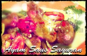 Ayam Saus Sayuran