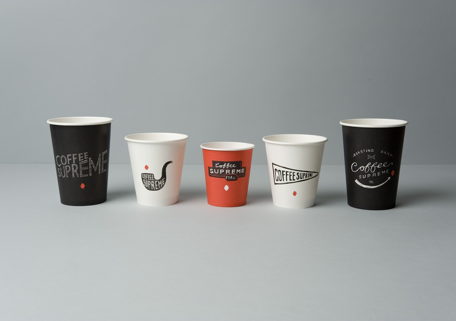 Coffee supreme on packaging of the world creative for Best coffee cup design