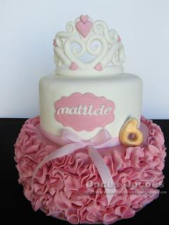 Bolo de aniversário da Matilde