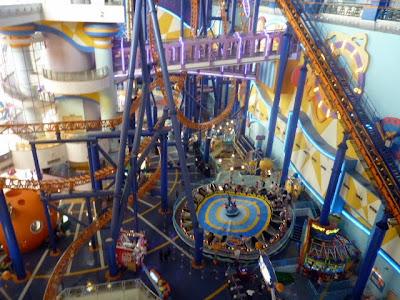 parque de atracciones en centro comercial KL