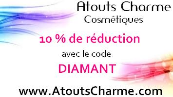 -10% avec le code DIAMANT sur Atouts Charme !