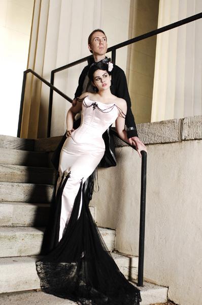 Victorian Gothic Wedding Dresses 4 Spectacular Gothic Wedding Dresses