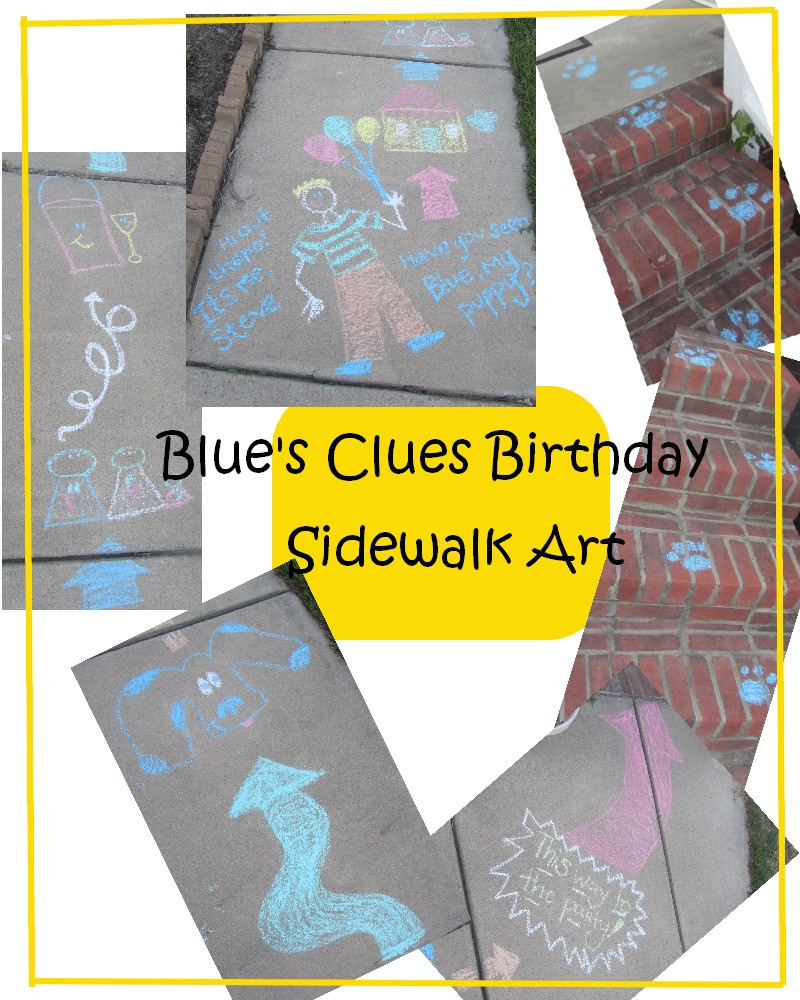 wayward girls u0027 crafts pb u0027s 2nd birthday party blue u0027s clues