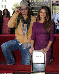 Penélope Cruz sai oman tähden Hollywood Walk of Famelle
