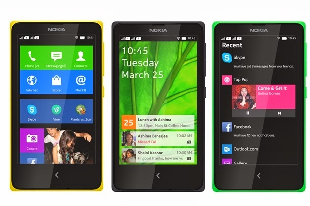 'Nokia Announces the X and X+, its First Android Phones