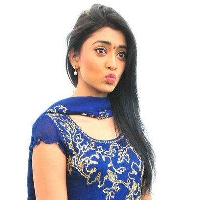 Shriya Saran Stills  in Blue