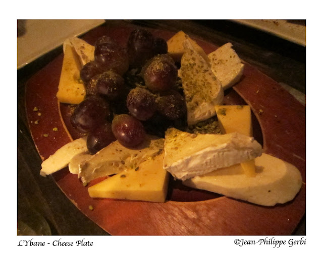Image of Cheese plate at L'Ybane in NYC, New York