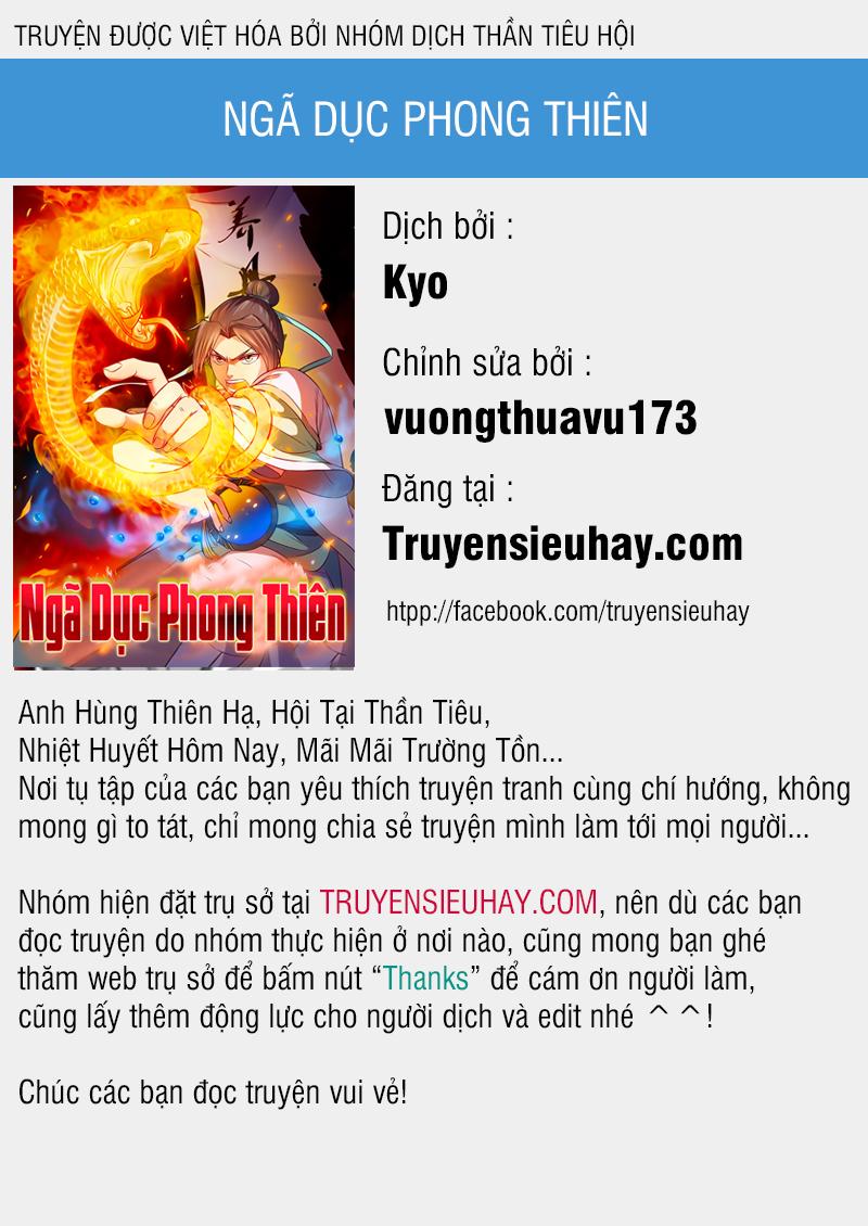 Ngã Dục Phong Thiên - Chap 35