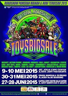 NEXT WEEK! 30-31 May 2015 @GMSbdg National Roadshow #ToysBigSale2015 BANDUNG